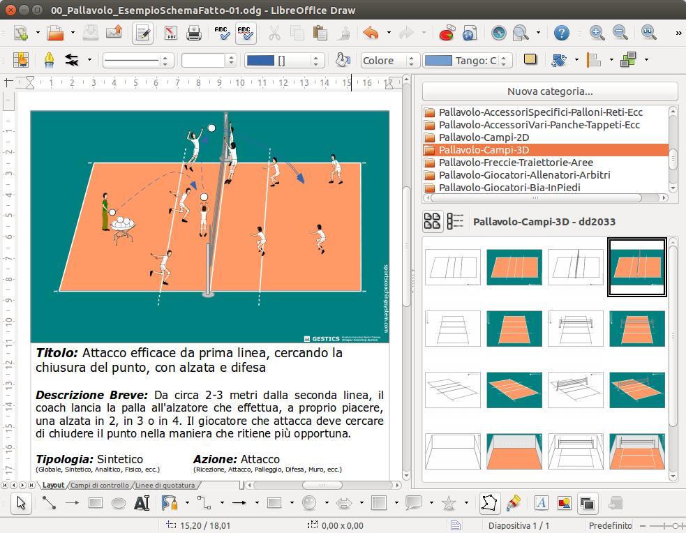 Gestics pallavolo for Programma di costruzione per la costruzione di una casa